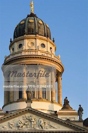 Extérieur du Deutscher Dom, Berlin, Allemagne