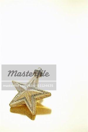Ornement de Noël en forme d'étoile