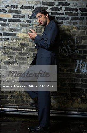 Homme d'éclairage Cigar