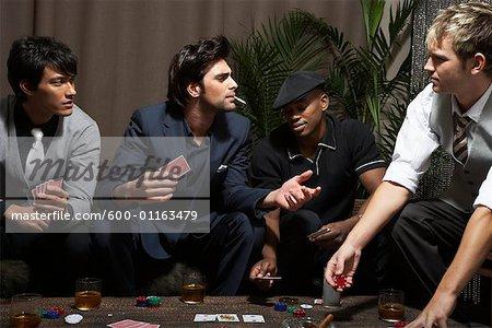 Cartes à jouer hommes