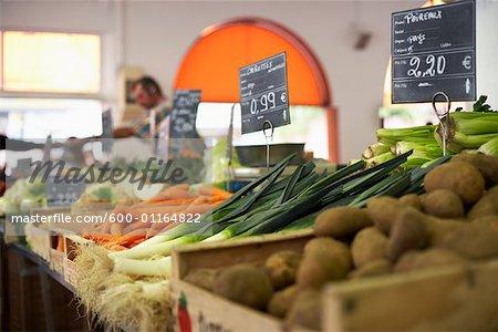Gemüsemarkt, Cote Kurztrips, Cannes, Frankreich