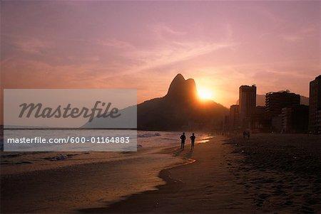 Plage d'Ipanema, Rio De Janeiro, Brésil