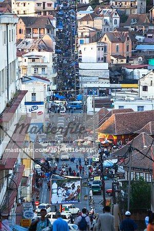 Street Scene in Antananarivo, Madagascar