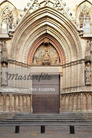 Santa Maria del Mar, Barcelone, Espagne