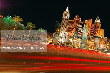 Las Vegas Boulevard, Las Vegas, Nevada, Etats-Unis, Amérique