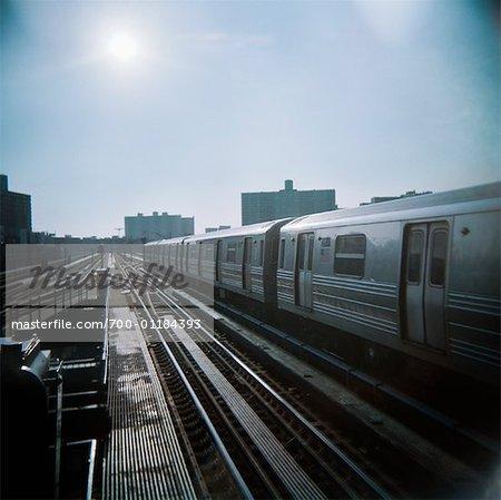 Train Station, Coney Island, Brooklyn, New York, USA