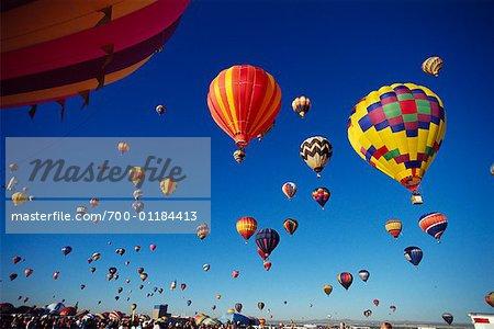 Ballons à Air chaud, Albuquerque, Nouveau-Mexique, États-Unis