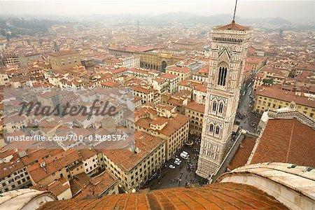 Paysage urbain de Florence, Italie
