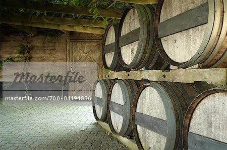Barils, Inniskillin Winery, Niagara on the Lake, Ontario, Canada