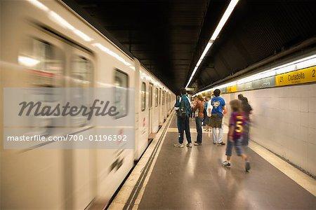 Subway, Barcelona, Spain