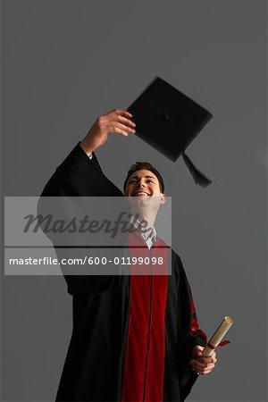 Portrait of University Graduate