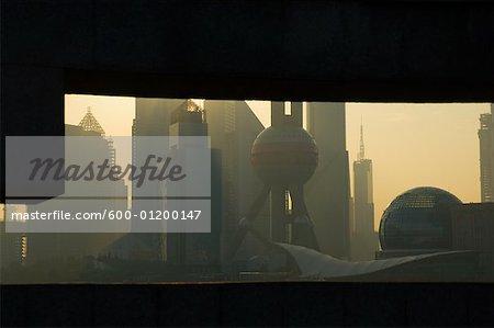 Financial District, Shanghai, Chine
