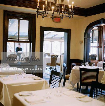 Salle de restaurant, Niagara on the Lake, Ontario, Canada