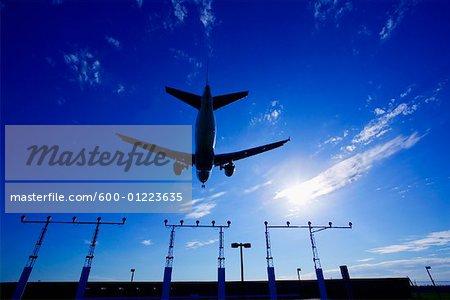 Flugzeug abheben