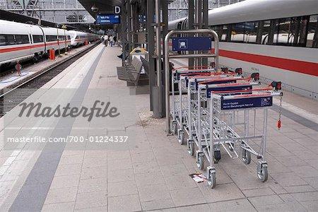Train Station, Frankfurt, Germany