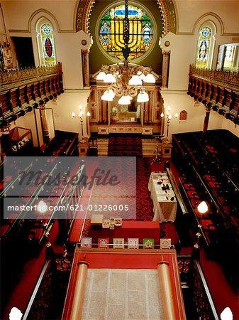 Interior of Jewish Synagogue