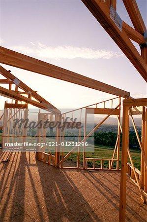 wood frame house exterior