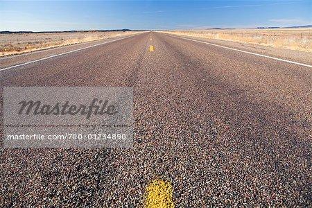 Open Road, Nevada, USA
