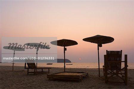La plage de Ngapali, Thandwe, Myanmar