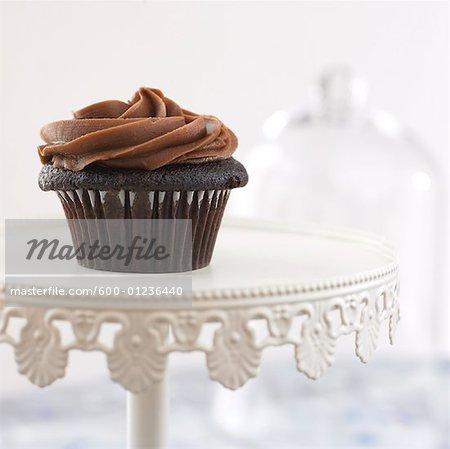 Nahaufnahme der Cupcake
