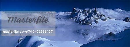 Grand Jorass, Alpes, Chamonix, France