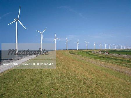 Wind Farm, Flevoland, Netherlands