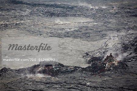 Volcan Kilauea, Hawaii Volcanoes National Park, Hawaii, USA