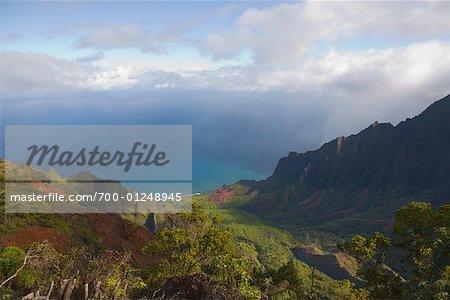 Kalalau Valley, Na Pali Coast, Hawaii, USA