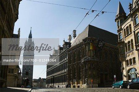 Street, Ghent, Belgium