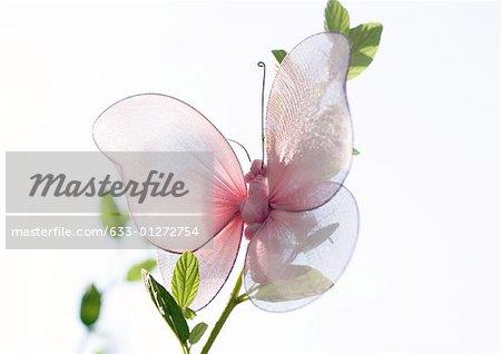 Fake papillon