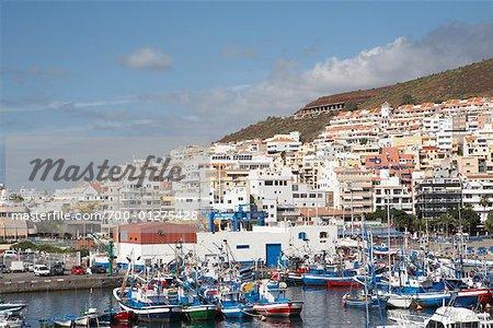 Port de Tenerife, îles Canaries, Espagne