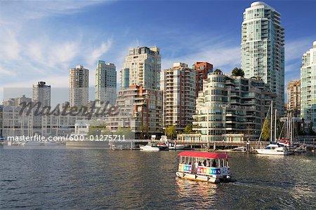 Skyline de Vancouver, en Colombie-Britannique, Canada