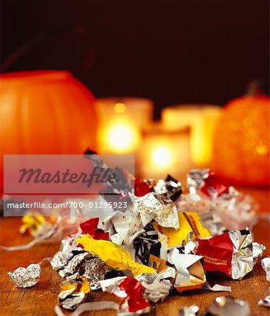 Friandises d'Halloween