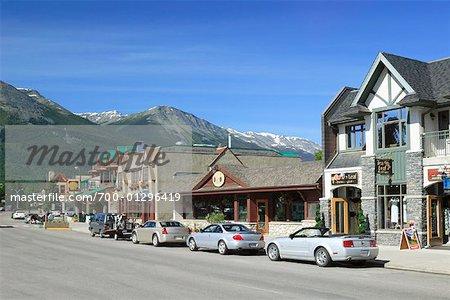 Jasper Avenue, Jasper, Alberta, Canada