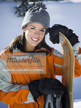 Porträt einer erwachsenen Frau lächelnd