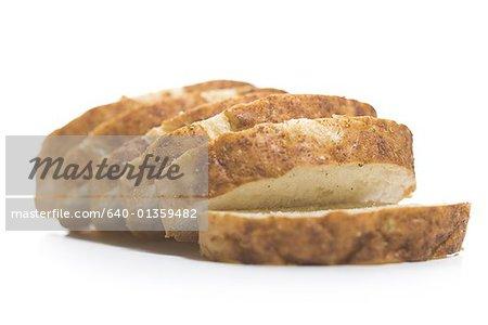 Näheres zu den Scheiben Brot