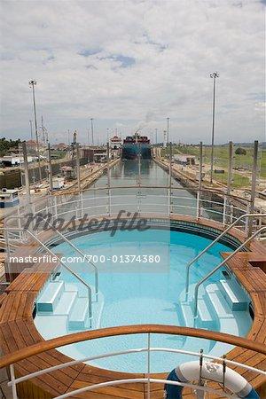 Swimming Pool, Gatun Lock, Panama Canal, Panama