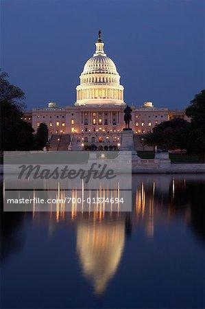 The Capitol Building, Washington DC, USA