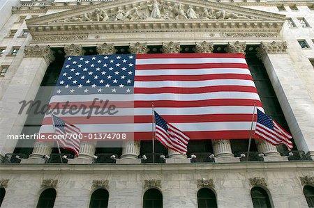 New York Stock Exchange Building, New York City, New York, USA