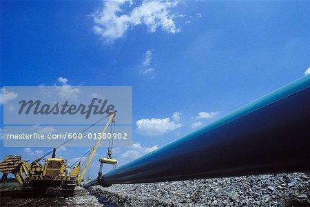 Construire des gazoducs