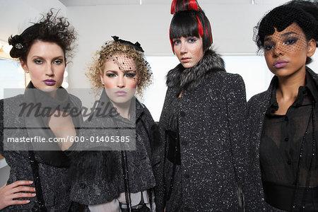 Portrait of Women Backstage