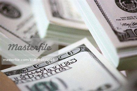 Piles d'argent
