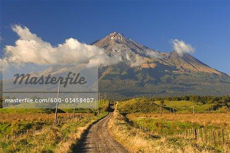Mont Taranaki, North Island, Nouvelle-Zélande