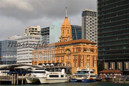 Auckland Ferry Building, Auckland, New Zealand