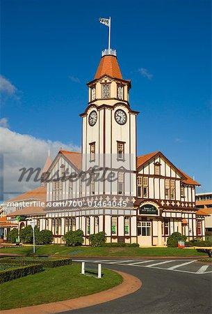 Visitor's Centre in Rotorua, New Zealand
