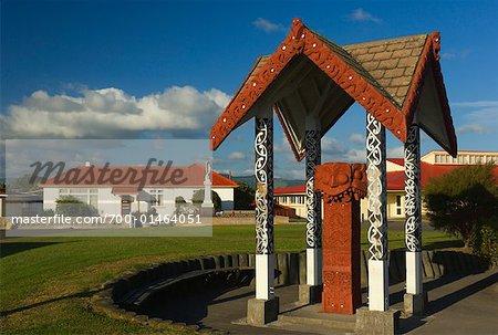 Ohinemutu, Rotorua, Nouvelle-Zélande