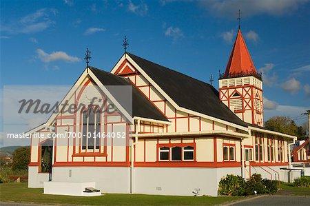 St Faith's Church, Ohinemutu, Rotorua, New Zealand