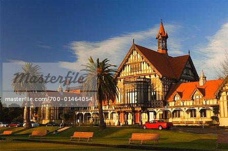 Rotorua Museum of Art and History, Rotorua, New Zealand