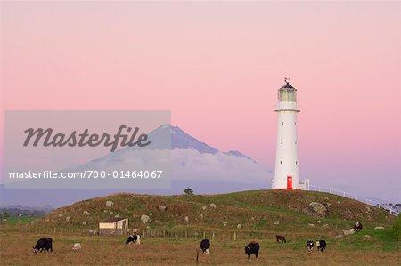 Cape Egmont Lighthouse, Taranaki, New Zealand