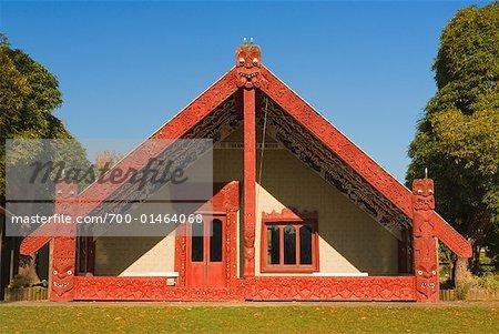 Meeting House, Te Kuiti, Nouvelle-Zélande